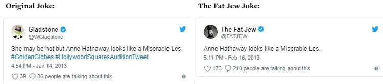 The Fat Jew allegedly steals jokes 03