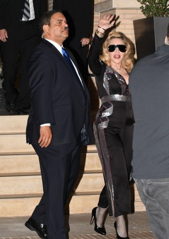 Madonna promoting MDNA Skin at Barneys New York, Beverly Hills - 7 March 2018 (4)