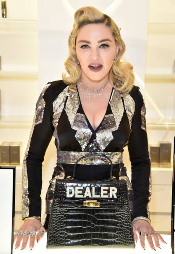 Madonna promoting MDNA Skin at Barneys New York, Beverly Hills - 7 March 2018 (6)