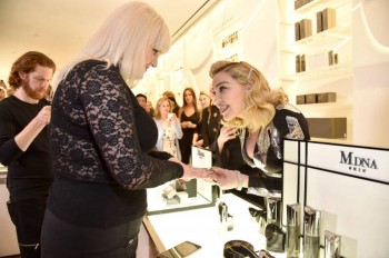 Madonna promoting MDNA Skin at Barneys New York, Beverly Hills - 7 March 2018 (9)