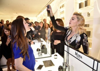 Madonna promoting MDNA Skin at Barneys New York, Beverly Hills - 7 March 2018 (10)