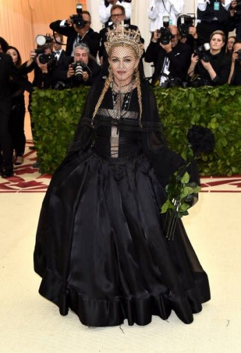 Madonna attends the Met Gala at the Metropolitan Museum of Art in New York - 7 May 2018 (26)