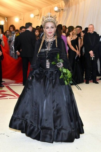 Madonna attends the Met Gala at the Metropolitan Museum of Art in New York - 7 May 2018 (27)