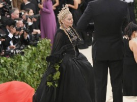 Madonna attends the Met Gala at the Metropolitan Museum of Art in New York - 7 May 2018 - Update (16)