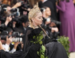 Madonna attends the Met Gala at the Metropolitan Museum of Art in New York - 7 May 2018 - Update (17)