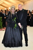 Madonna attends the Met Gala at the Metropolitan Museum of Art in New York - 7 May 2018 - Update (27)