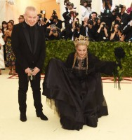 Madonna attends the Met Gala at the Metropolitan Museum of Art in New York - 7 May 2018 - Update (34)