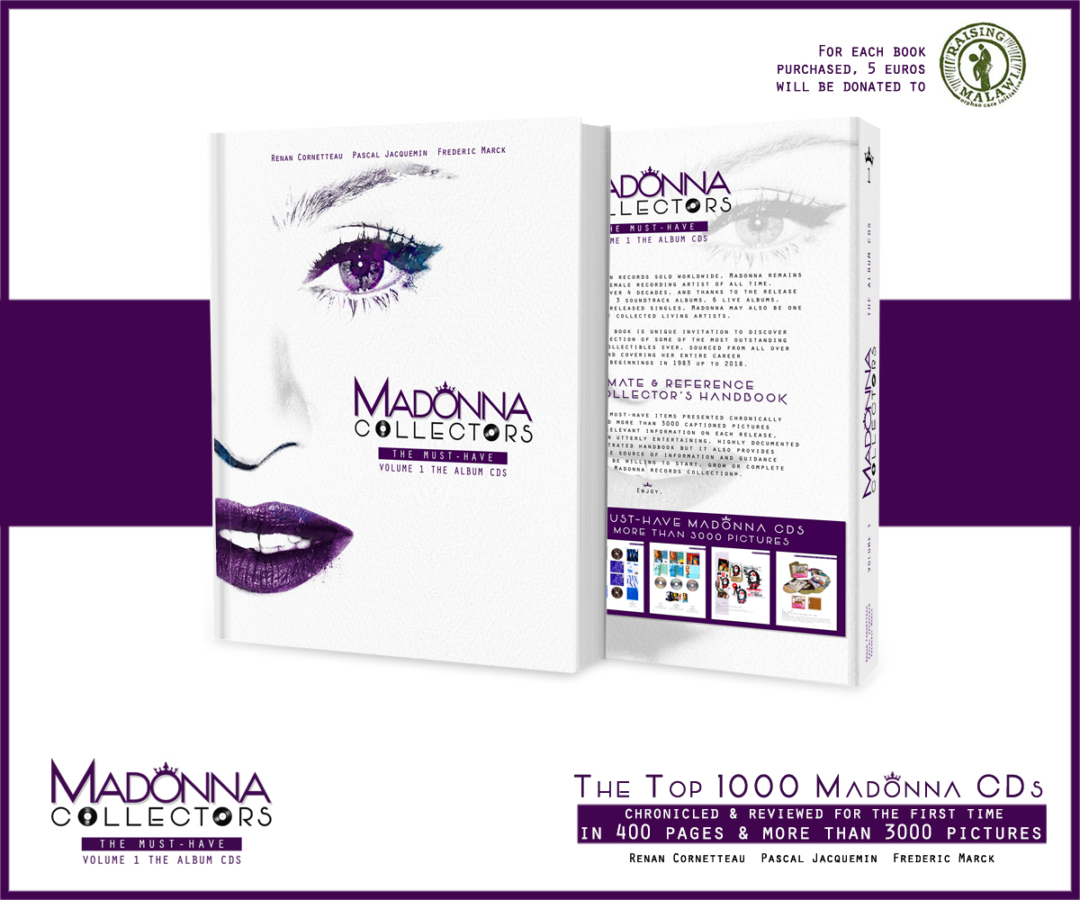f959bdc3b1 Inside MADONNA COLLECTORS The Must-Haves - Volume 1 the Album CDs Cover