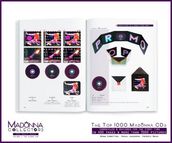 Inside MADONNA COLLECTORS The Must-Haves - Volume 1 the Album CDs