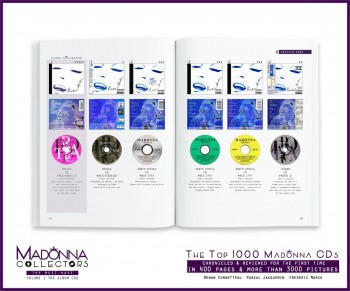 Inside MADONNA COLLECTORS The Must-Haves - Volume 1 the Album CDs 02