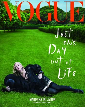 Madonna by Mert Alas & Marcus Piggott for Vogue Italia - August 2018 Issue 02