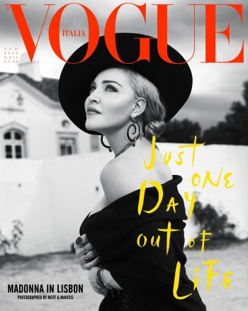 Madonna by Mert Alas & Marcus Piggott for Vogue Italia - August 2018 Issue 01