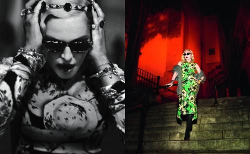 Madonna by Mert Alas & Marcus Piggott for Vogue Italia - August 2018 Issue 03
