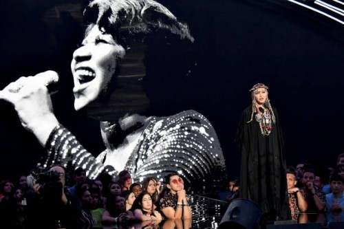 Madonna at the 2018 MTV Video Music Awards - 20 August 2018 - Pictures and Videos (16)