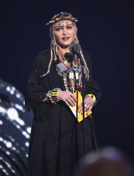 Madonna at the 2018 MTV Video Music Awards - 20 August 2018 - Pictures and Videos (19)