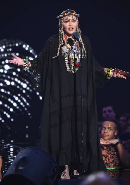 Madonna at the 2018 MTV Video Music Awards - 20 August 2018 - Pictures and Videos (20)