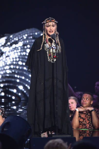 Madonna at the 2018 MTV Video Music Awards - 20 August 2018 - Pictures and Videos (23)