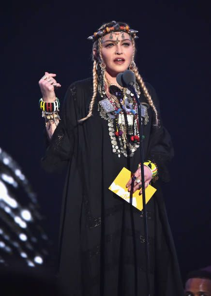 Madonna at the 2018 MTV Video Music Awards - 20 August 2018 - Pictures and Videos (24)