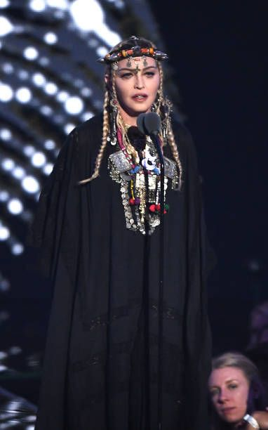 Madonna at the 2018 MTV Video Music Awards - 20 August 2018 - Pictures and Videos (27)