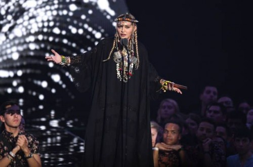 Madonna at the 2018 MTV Video Music Awards - 20 August 2018 - Pictures and Videos (29)