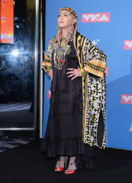 Madonna at the 2018 MTV Video Music Awards - 20 August 2018 - Pictures and Videos (39)