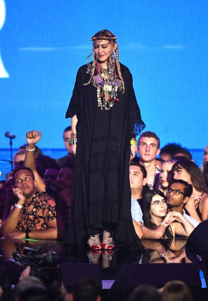 Madonna at the 2018 MTV Video Music Awards - 20 August 2018 - Pictures and Videos (69)
