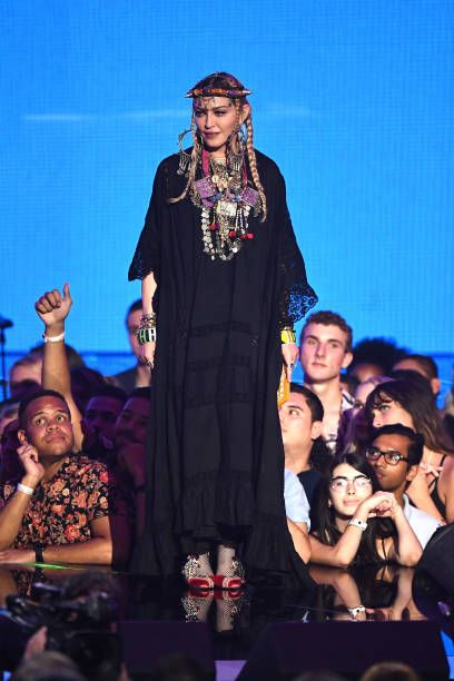 Madonna at the 2018 MTV Video Music Awards - 20 August 2018 - Pictures and Videos (70)