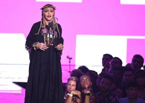 Madonna at the 2018 MTV Video Music Awards - 20 August 2018 - Pictures and Videos (74)