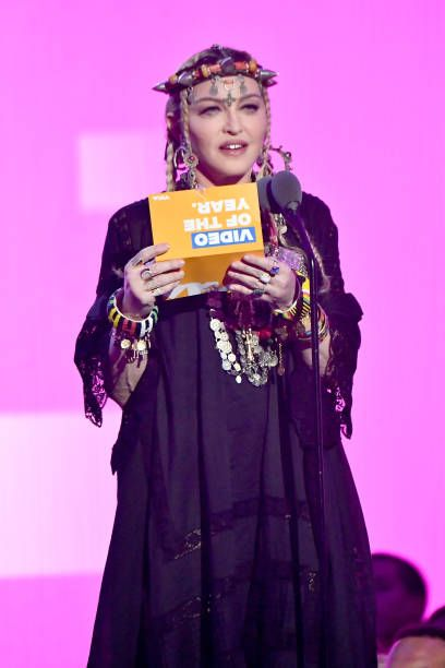Madonna at the 2018 MTV Video Music Awards - 20 August 2018 - Pictures and Videos (77)