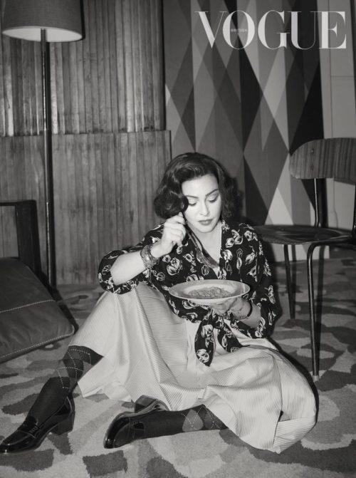 Madonna by Alas & Piggot for British Vogue - June 2019 issue 02