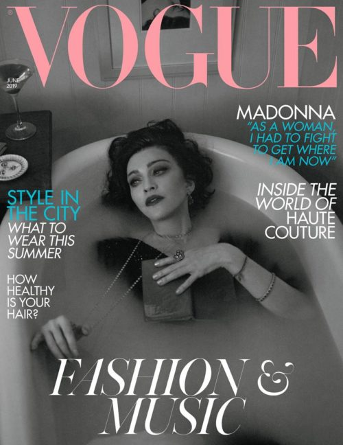 Madonna by Alas & Piggot for British Vogue - June 2019 issue 03