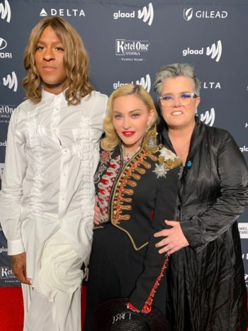 Madonna receives Advocate for Change Award at the 2019 GLAAD Media Awards - 4 May 2019 (2)