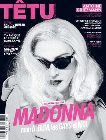 Madonna by Steven Klein for Tetu - Summer 2019 issue