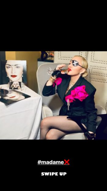 An Audience With Madonna in London with Graham Norton 02