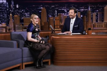 Madonna on The Tonight Show Starring Jimmy Fallon - Pictures and Videos - Madame X (4)