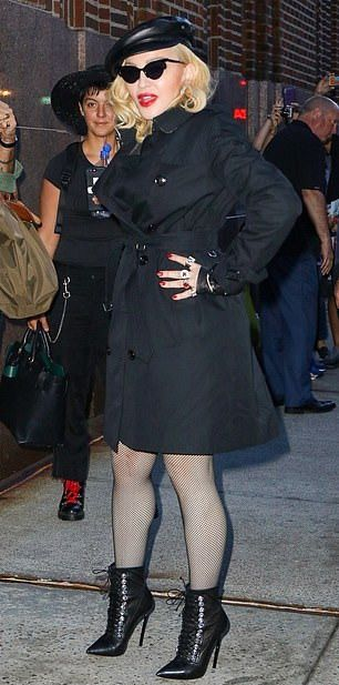 Madonna on The Tonight Show Starring Jimmy Fallon - Pictures and Videos - Madame X (5)