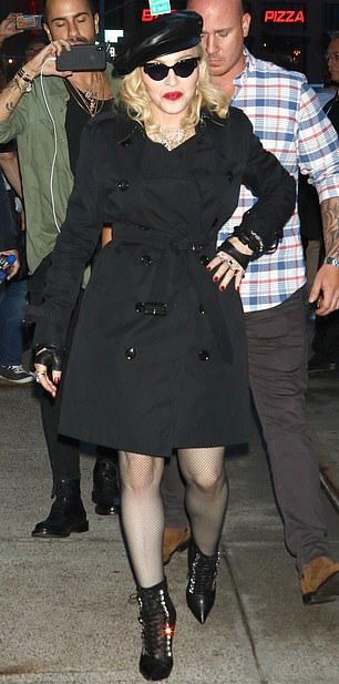 Madonna on The Tonight Show Starring Jimmy Fallon - Pictures and Videos - Madame X (6)