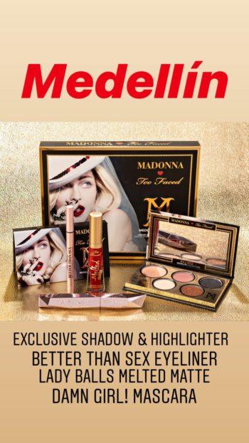 Madonna Too Faced Medellin Set