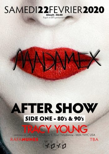 Madame X Tour after party with DJ Tracy Young in Paris 03