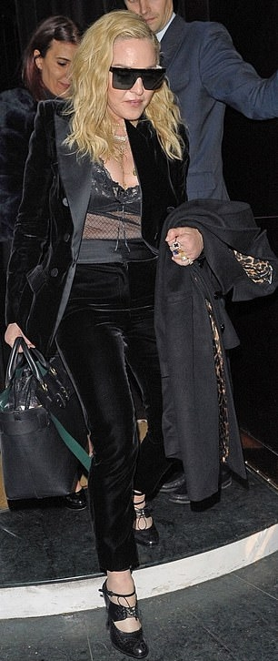 Madonna out and about in London - 29 November 2018 (2)