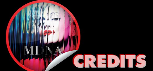 Madonna's MDNA – Production Credits