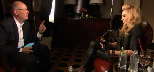 Assista a entrevista de Madonna para Harry Smith, da NBC, para o Today Show