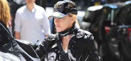 Madonna at the Kabbalah Centre in New York [19 May 2012]