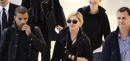 Madonna at JFK airport in New York [24 May 2012]
