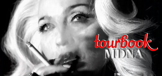 EXCLUSIVE – The MDNA Tour Book: Cover and details revealed
