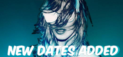 MDNA Tour – Extra dates added in Brazil and Argentina