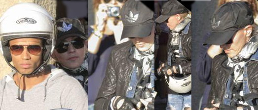 Madonna shopping at Ponte Vecchio in Florence [15 June 2012]