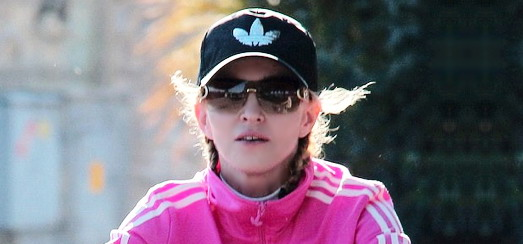 Madonna out and about in Florence [16 June 2012]