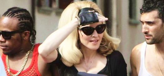 "Madonna on the set of ""Turn up the Radio"" [18 June 2012 – Pictures & Video]"