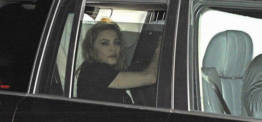 Madonna leaving the o2 World in Berlin [1 July 2012]